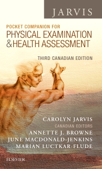 cover image - Pocket Companion for Physical Examination and Health Assessment, Canadian Edition,3rd Edition