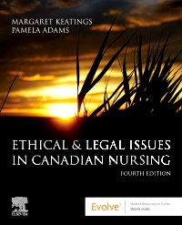 cover image - Ethical & Legal Issues in Canadian Elsevier eBook on VitalSource,4th Edition