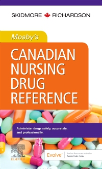 cover image - Evolve Resources to accompany Mosby's Canadian Nursing Drug Reference