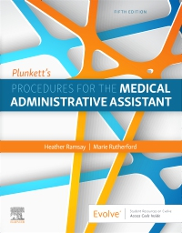 cover image - Plunkett's Procedures for the Medical Administrative Assistant,5th Edition