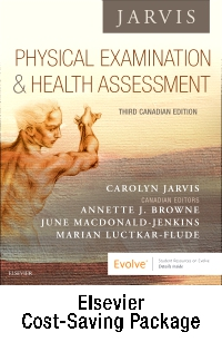 cover image - Physical Examination and Health Assessment, Canadian Edition - Text + Lab Manual Package,3rd Edition