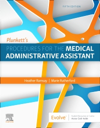 cover image - Evolve Resouces for Plunkett's Procedures for the Medical Administrative Assistant,5th Edition