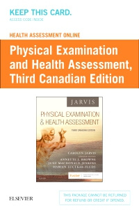 cover image - Health Assessment Online for Physical Examination and Health Assessment (User Guide and Access Code),3rd Edition