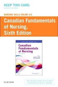 cover image - Nursing Skills Online 4.0 for Canadian Fundamentals of Nursing (User Guide and Access Code),6th Edition