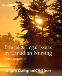 cover image - Ethical & Legal Issues in Canadian Nursing,3rd Edition