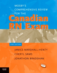 cover image - Mosby's Comprehensive Review for the Canadian RN Exam - Elsevier eBook on VitalSource