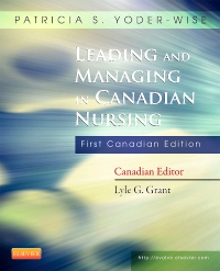cover image - Leading and Managing in Canadian Nursing - Elsevier eBook on VitalSource