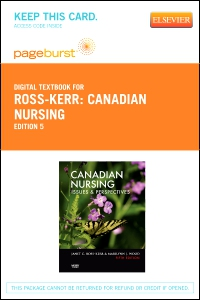 cover image - Canadian Nursing - Elsevier eBook on VitalSource (Retail Access Card),5th Edition