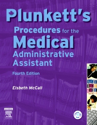 cover image - Plunkett's Procedures for the Medical Administrative Assistant - Elsevier eBook on VitalSource,4th Edition
