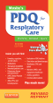Mosby's PDQ for Respiratory Care - Revised Reprint, 2nd Edition