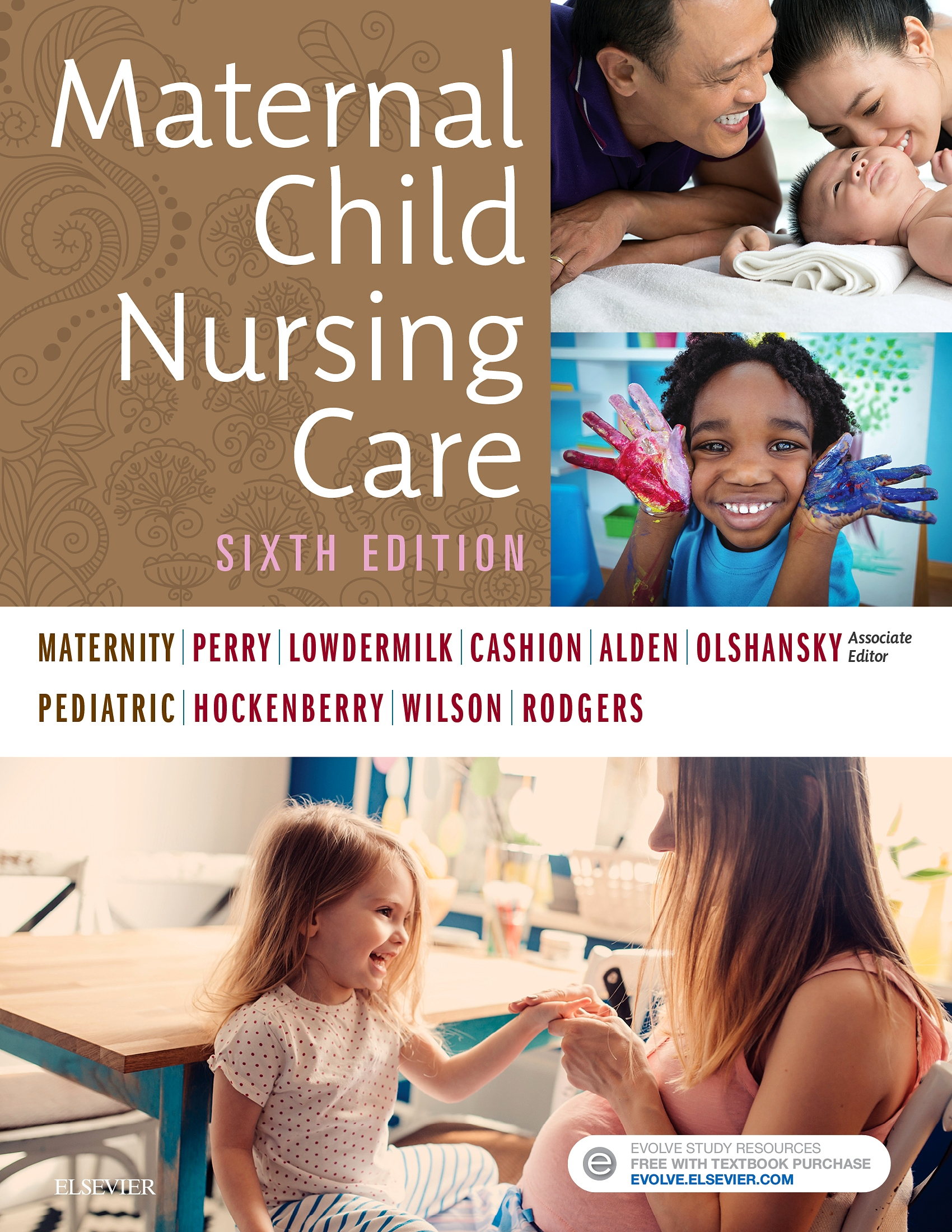 Evolve Resources for Maternal Child Nursing Care, 6th Edition