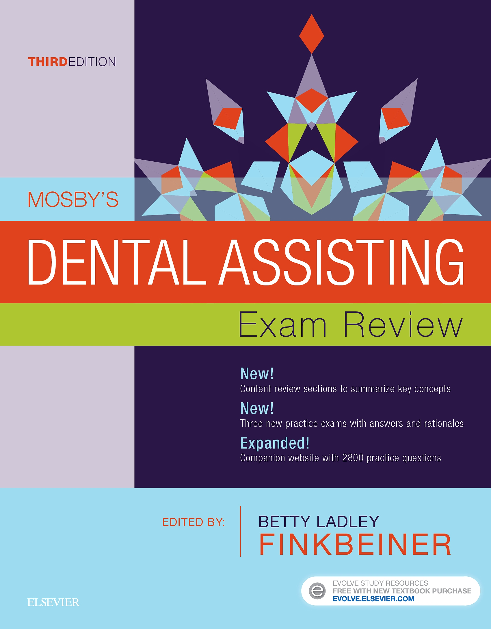 Evolve Resources for Mosby's Dental Assisting Exam Review, 3rd Edition