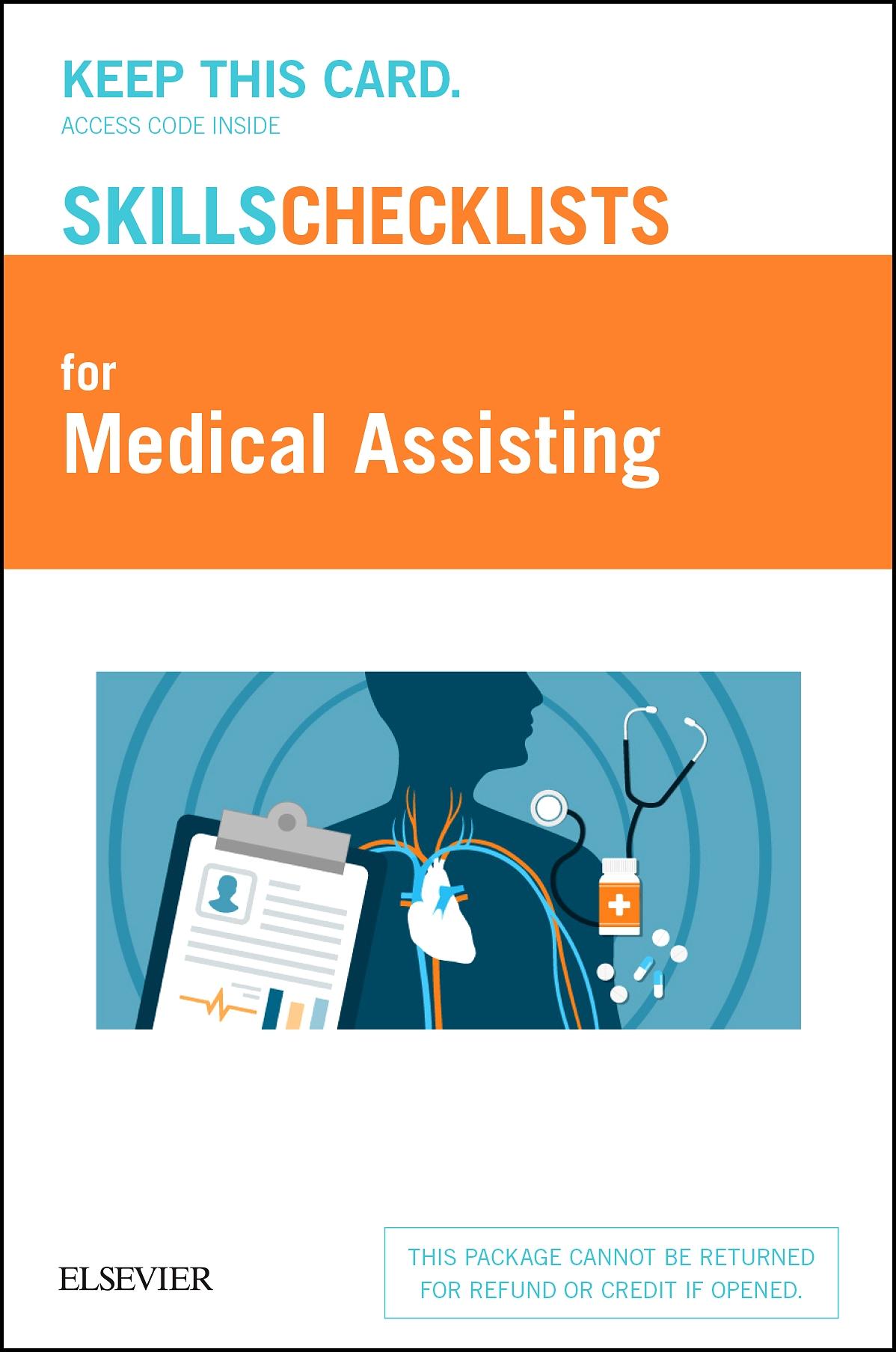 Elsevier's Skills Checklists for Medical Assisting