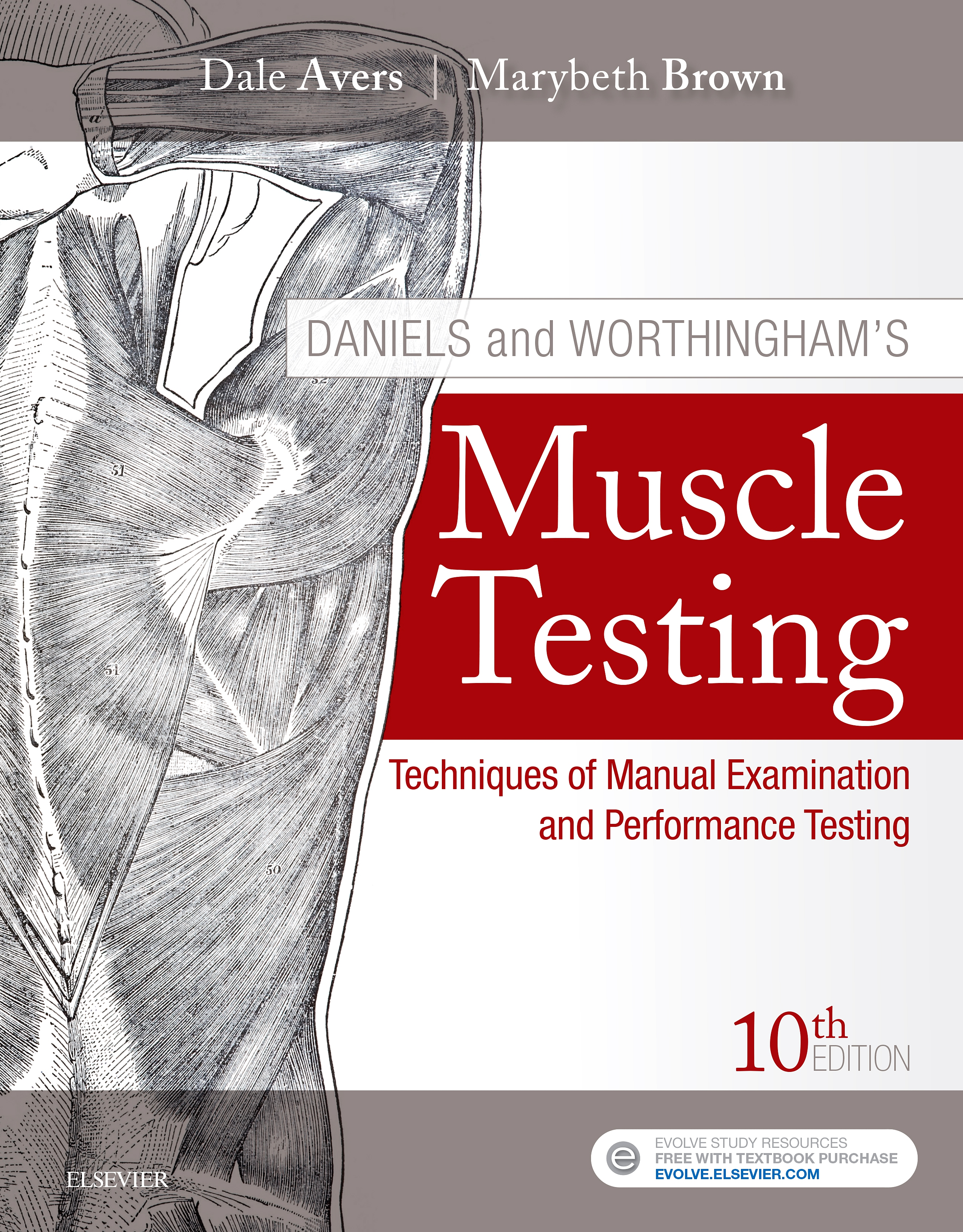 Evolve Resources for Daniels and Worthingham's Muscle Testing, 10th Edition