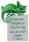 Elsevier Adaptive Quizzing for the NCLEX-PN Exam, 3rd Edition